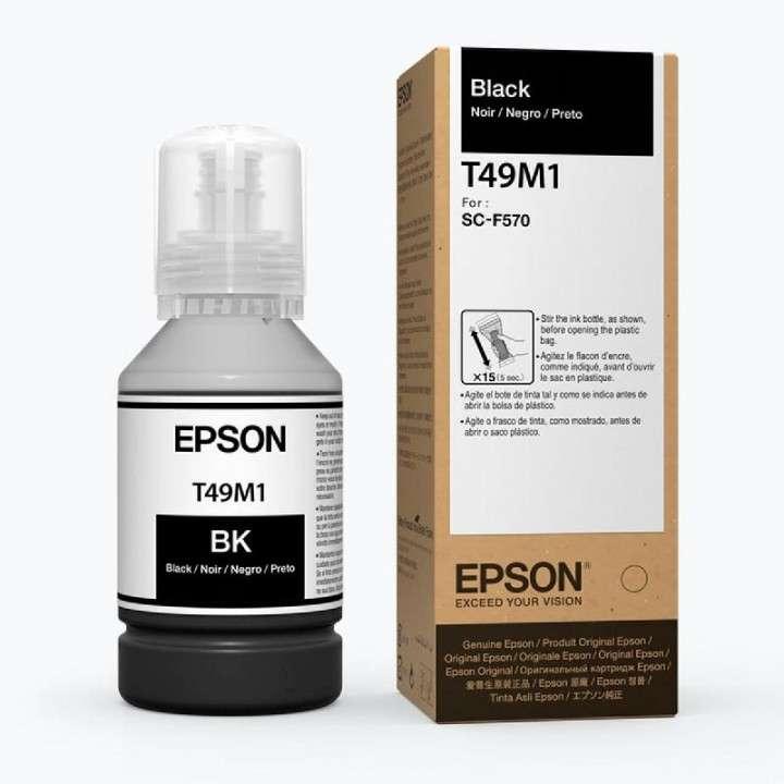 Tinta Epson T49M120 F570 ultrachrome negro 140 ML - 0