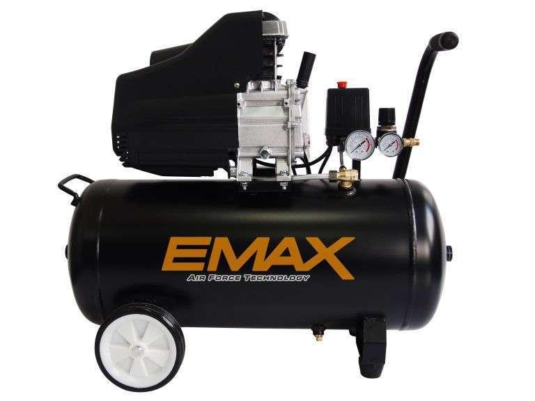Compresor de aire 2HP 50L EMAX - 0