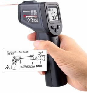 Termómetro láser infrarrojo sin contacto