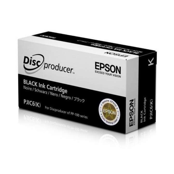 Tinta black Epson PP-100 C13S020452 PJIC6 K - 0