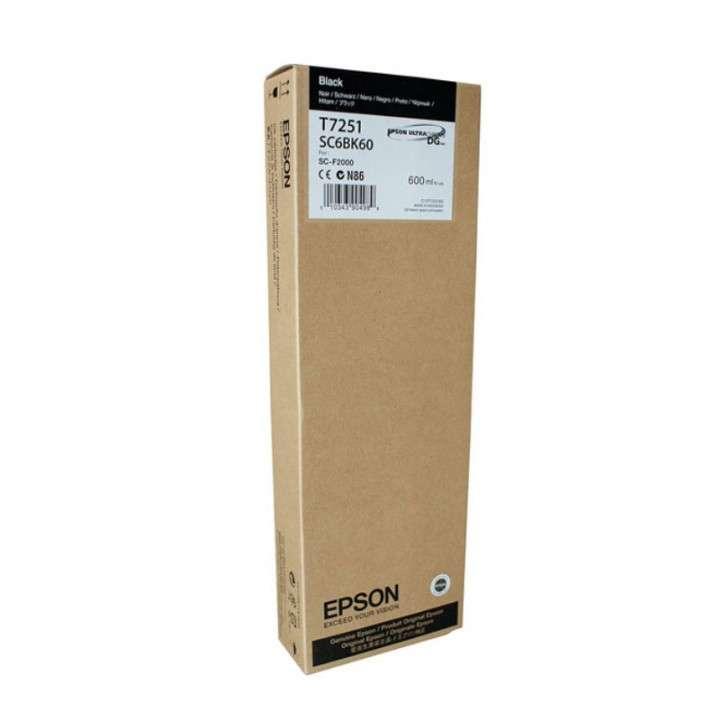 Tinta Epson T725100 negro 725 (F2100WE) - 0