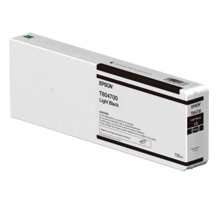Tinta Epson P9000 T804700 negro claro ultrachrome 700 ml - 0