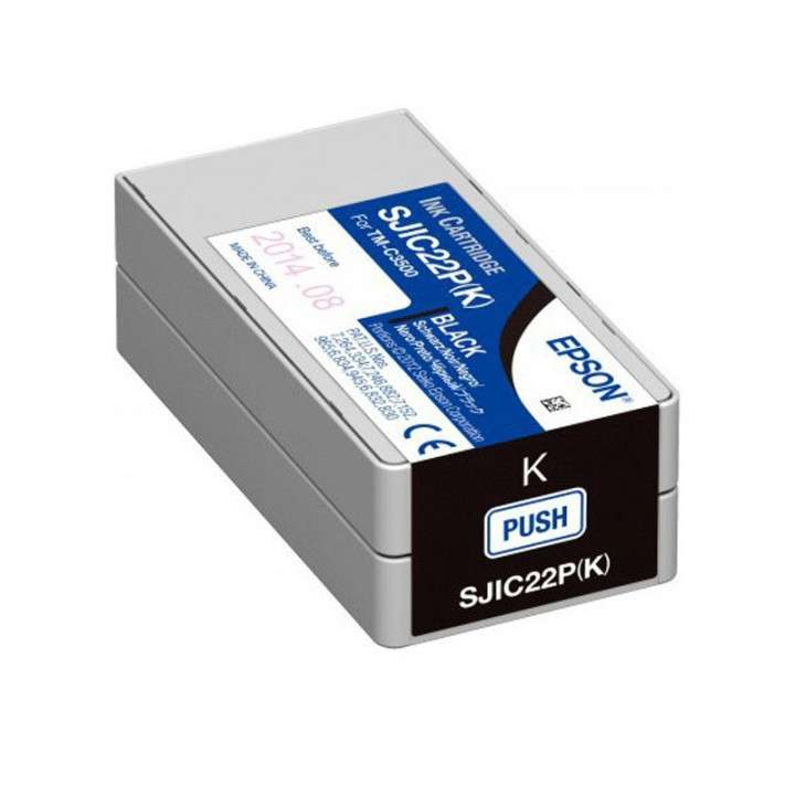 Tinta Epson SJC22P (K) TM-C3500 negro - 0