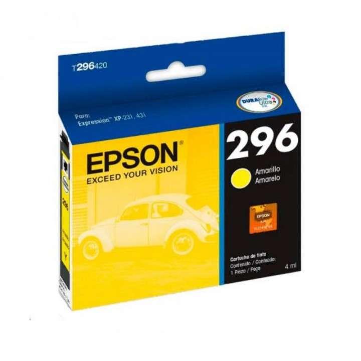 Tinta amarillo Epson Expression 296 4ML P/XP-231-241-431-441 - 0