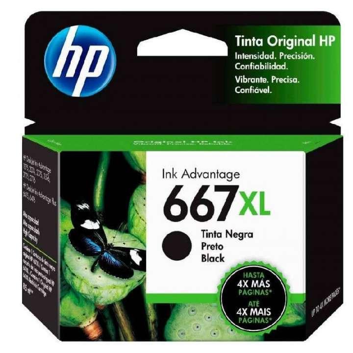 Tinta negra HP 3YM81AL 667XL 2375/2775 - 0