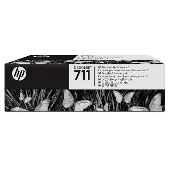 Kit mantenimiento tinta HP C1Q10A 711 - 0