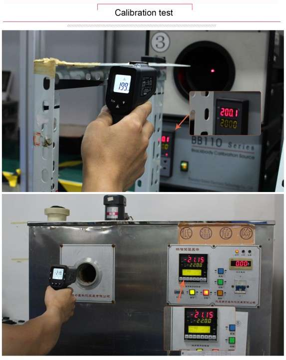 Termómetro láser infrarrojo sin contacto - 3
