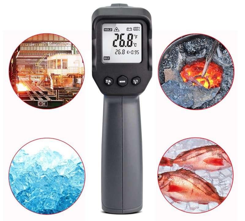 Termómetro láser infrarrojo sin contacto - 4