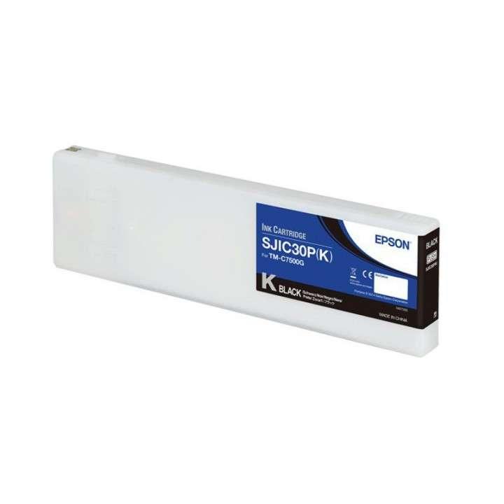 Tinta Epson SJC30P (K) TM-C7500G negro - 0