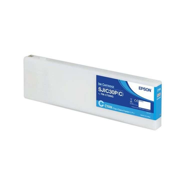 Tinta Epson SJC30P (C) TM-C7500G cyan - 0