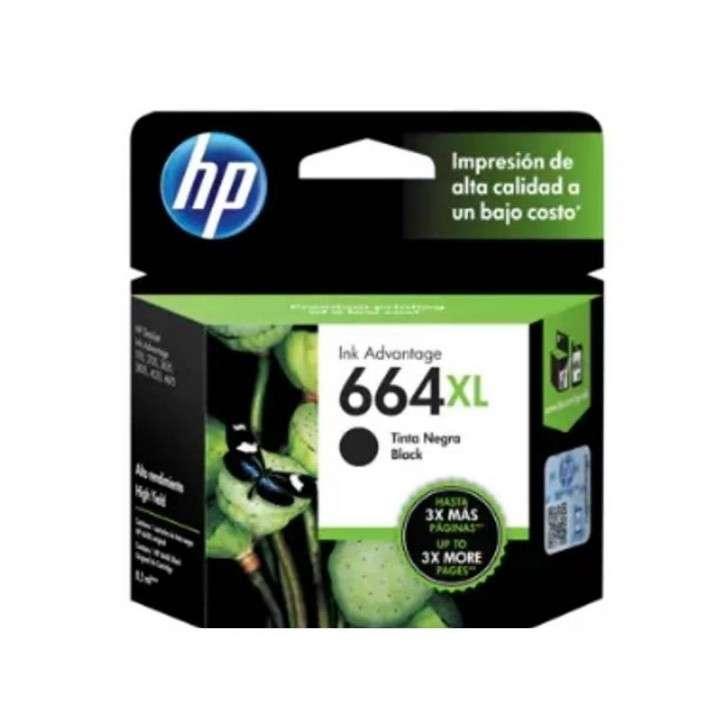 Tinta negro HP CF6V31AL 664XL - 0