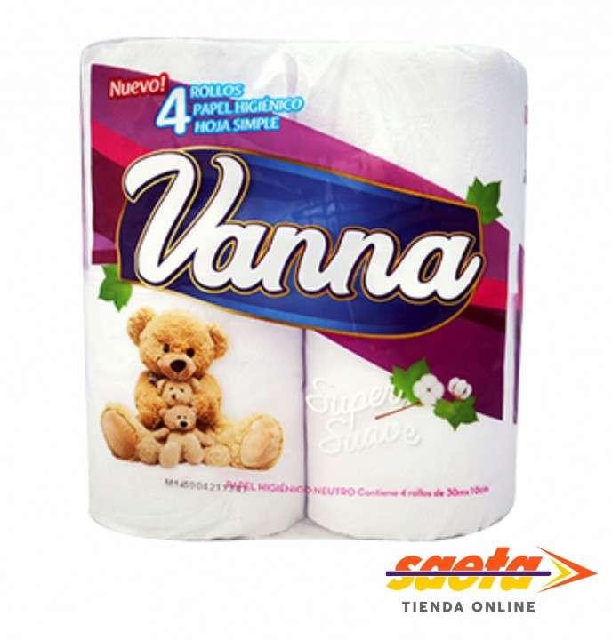 Papel higienico vanna neutro x 4 unidades - 0