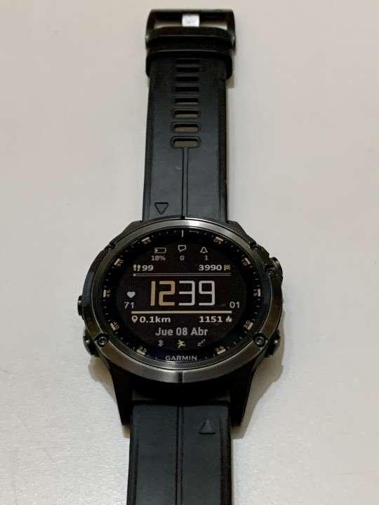Reloj multideporte Garmin Fenix 5 Plus Titanio - 2