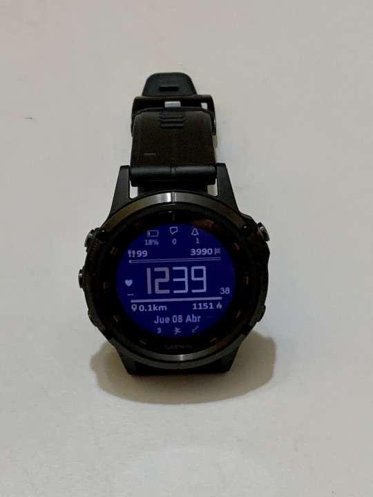 Reloj multideporte Garmin Fenix 5 Plus Titanio - 3