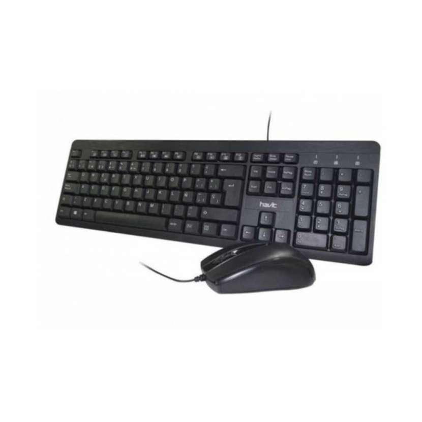 Teclado y mouse con cable Havit NV-KB611CM 5011 - 0