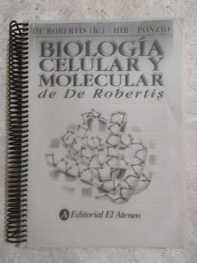 Biología molecular de Robertis