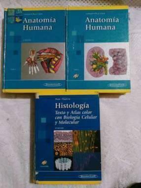 Libros de anatomía Latarjet Histología Ross