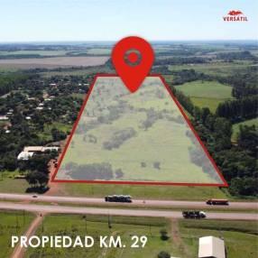 Terreno de 19 hectáreas en Minga Guazú