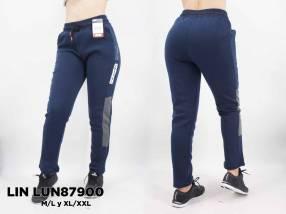 Pantalón frizado para dama LIN LUN87900