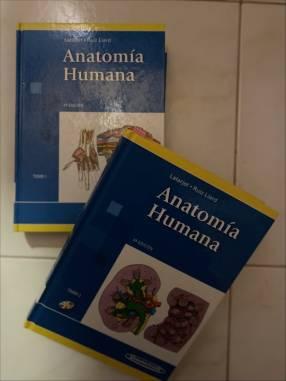Libro Anatomía Latarjet tomo 1 y 2