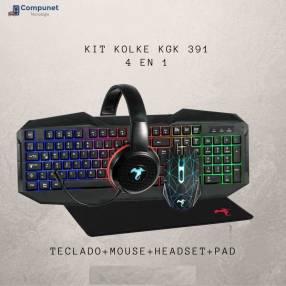 Kit gamer Kolke 4 en 1