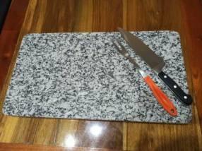 Tabla para quincho mesa de cocina en granito pulido