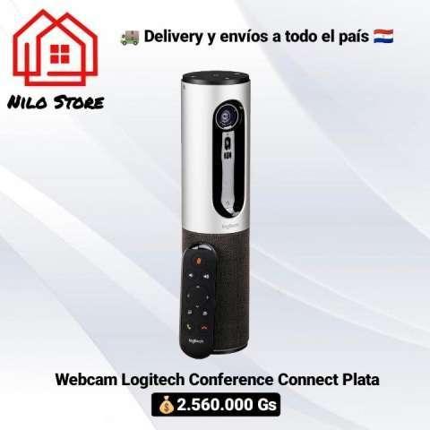 Webcam Logitech Conferencia Connect plata - 0