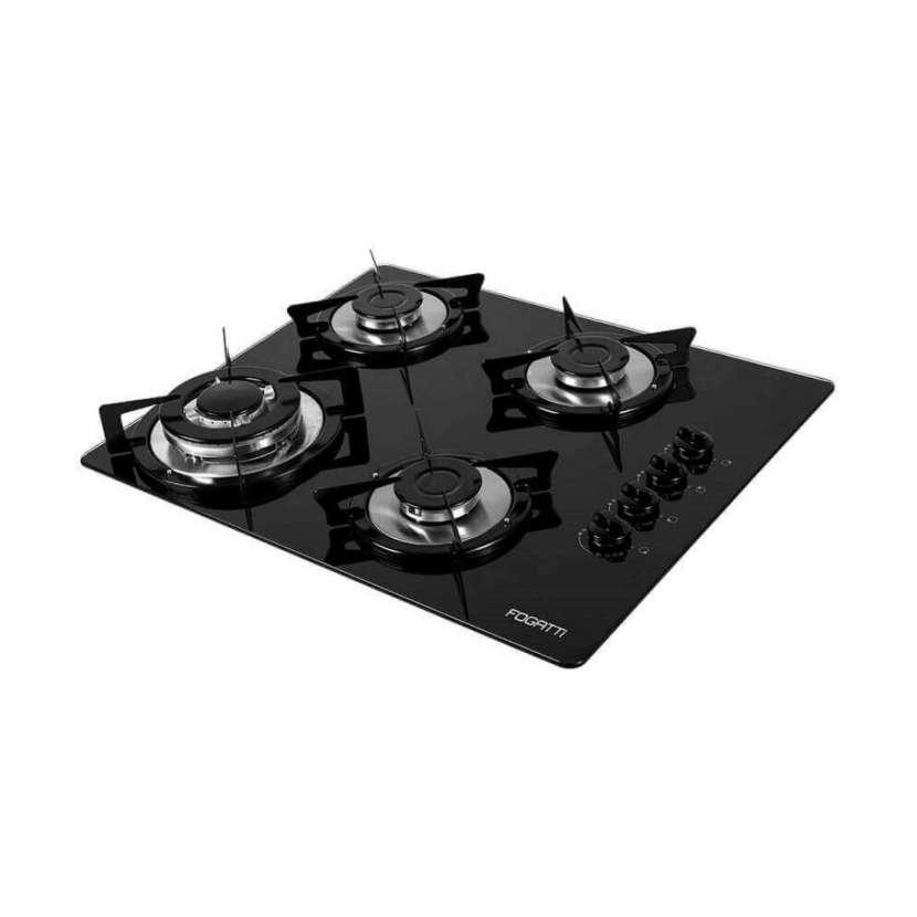 Cooktop 4 hornallas v400tc fogatti negro (30017) - 0