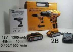 Taladro atornillador 18V