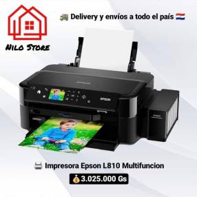Impresora Epson L810 multifunción tinta contínua