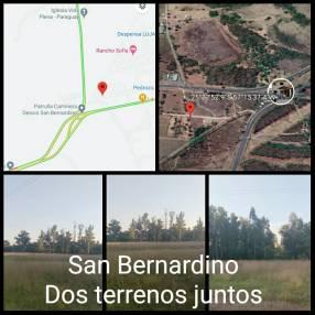 Terreno 1000 m2 en San Bernardino