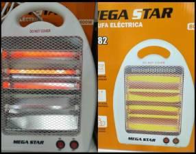 Estufa eléctrica Mega Star