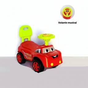 Auto para niños buggy musica rojo con sonido baby (4072)