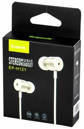 Auricular estéreo Ecopower EP-H121