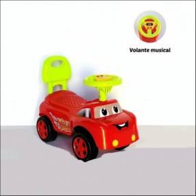 Auto para niños buggy música rojo con sonido