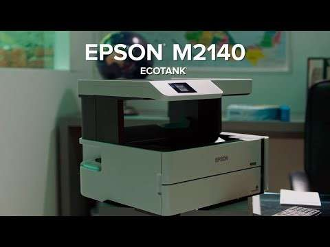 Impresora Multifuncional Monocromática EcoTank M2140 - 1