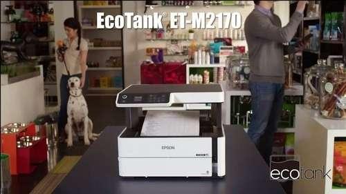 Impresora Multifuncional Monocromática EcoTank M2140 - 0
