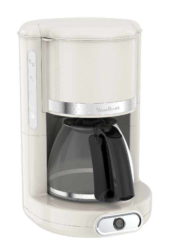 Cafetera de filtro moulinex mod fg381a10 soleil