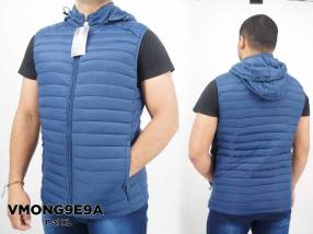 VMONG9E9A chaleco con capucha para caballero talle M al XL