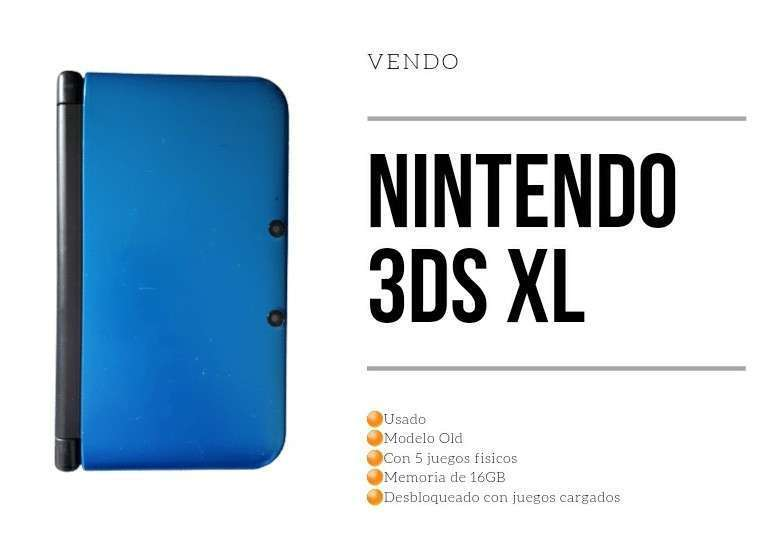Nintendo 3DS XL Old - 0