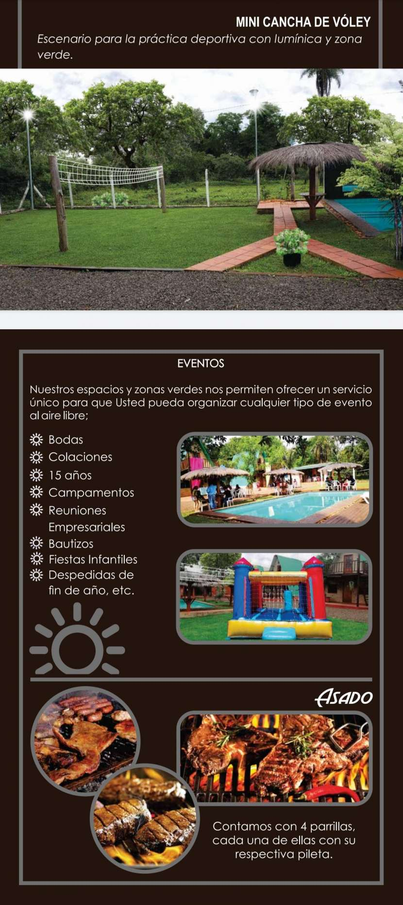 Complejo vacacional Cabañas Cartagena en Encarnación - 1