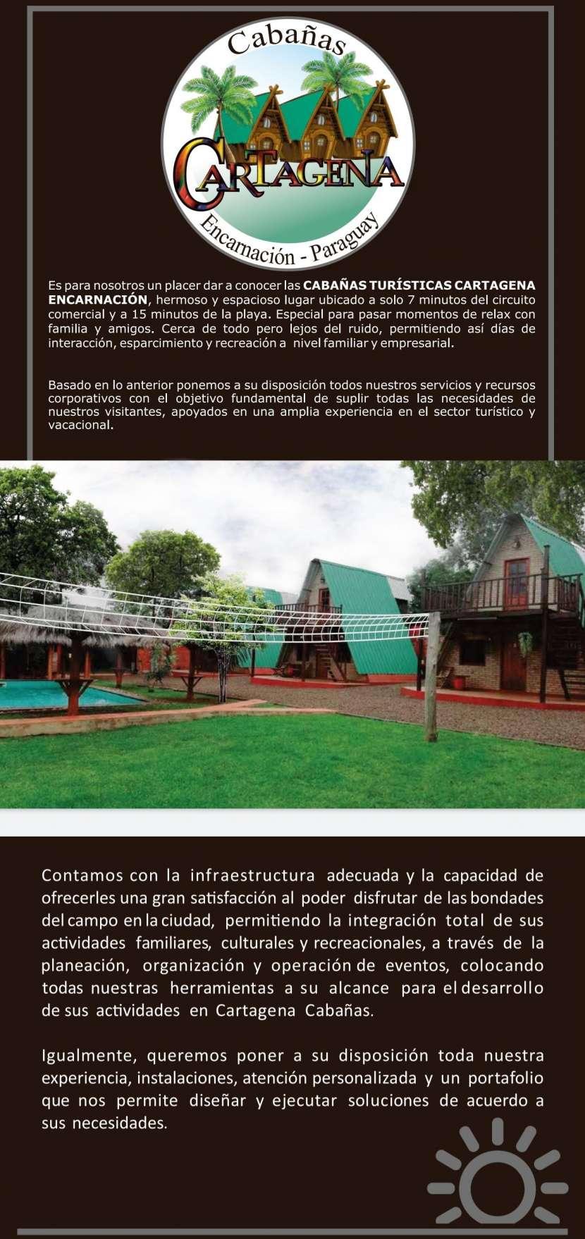 Complejo vacacional Cabañas Cartagena en Encarnación - 4