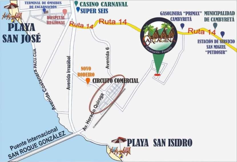 Complejo vacacional Cabañas Cartagena en Encarnación - 8