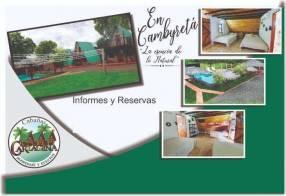 Complejo vacacional Cabañas Cartagena en Encarnación