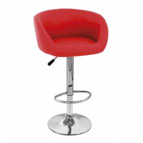 Silla bar stool roja Consumer 20073