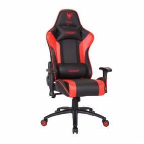 Silla gamer rojo negro Sate A-GC8703