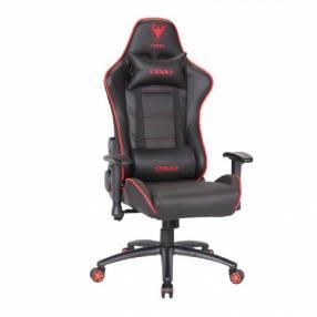 Silla gamer rojo negro Sate A-GC8705