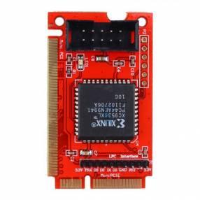 Pc analyzer PTi8 lcd post card PCI-E mini pci LPC
