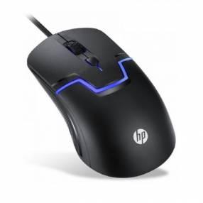 Mouse HP USB Gaming M100 Óptico 1600DPI/4 BOT/ Negro