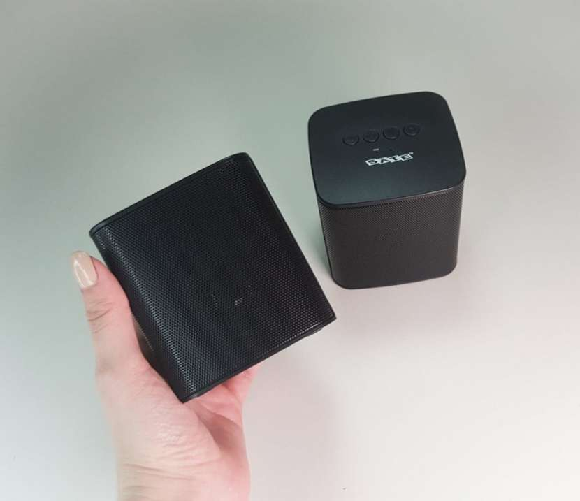 Mini parlante 2.0 portátil sate - 0